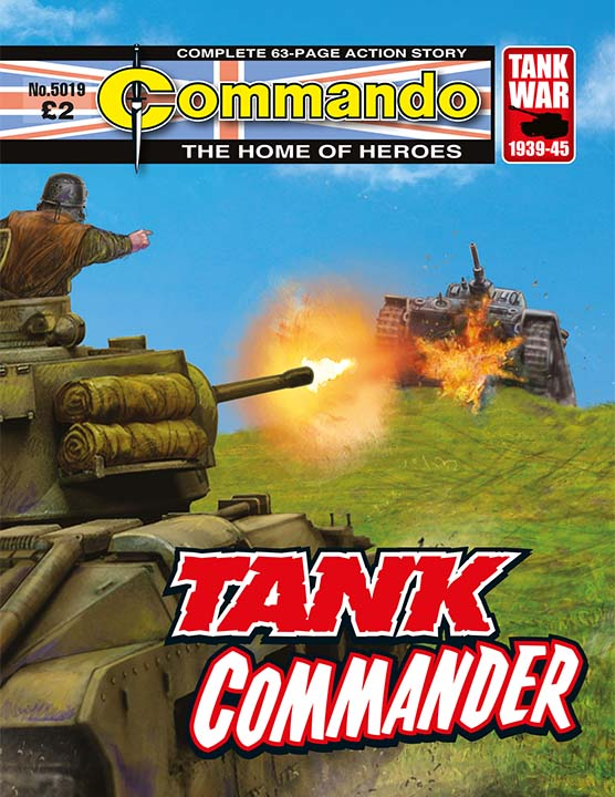 Commando 5019: Home of Heroes: Tank Commander