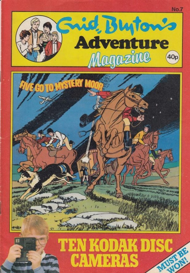 Enid Blyton Adventures Issue Seven