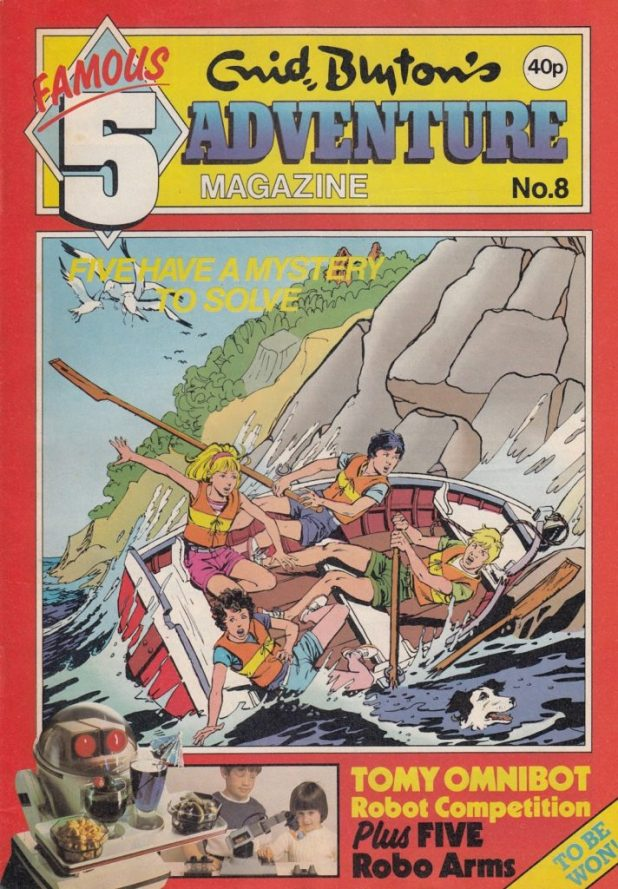 Enid Blyton Adventures Issue Eight
