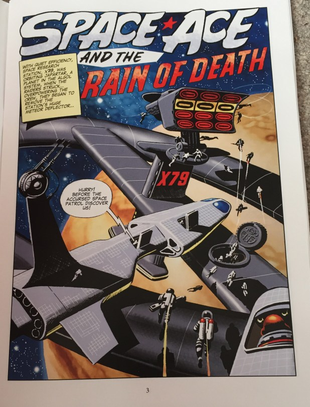 Space Ace Volume Eight - Rain of Death