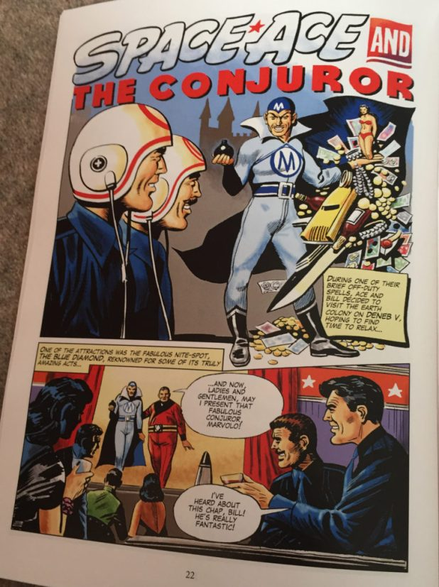 Space Ace Volume Eight - The Conjuror