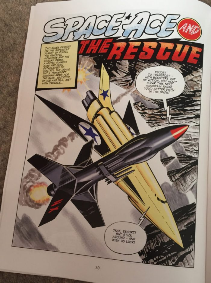 Space Ace Volume Eight - The Rescue