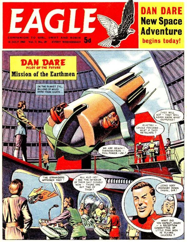 Dan Dare - Mission of the Earthmen Page 1
