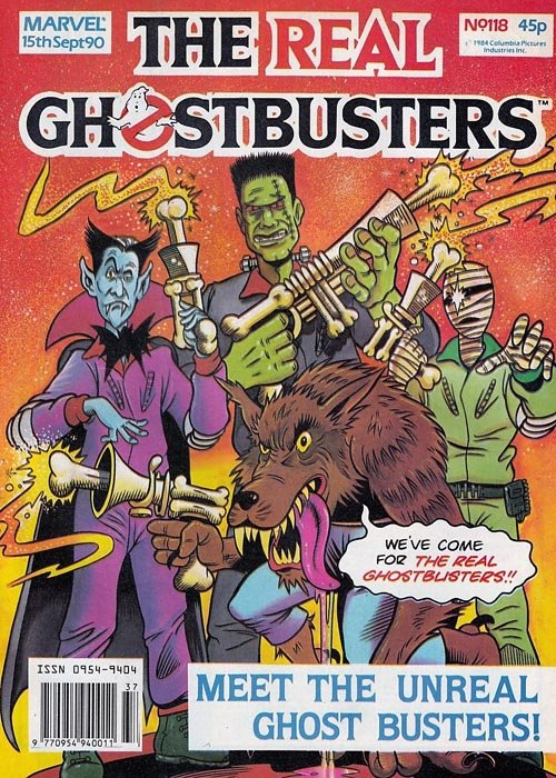 The Real Ghostbusters #118 (Marvel UK)