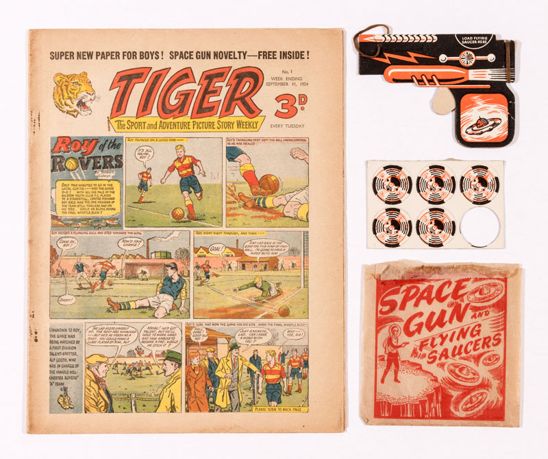 Tiger Issue 1 with Gift