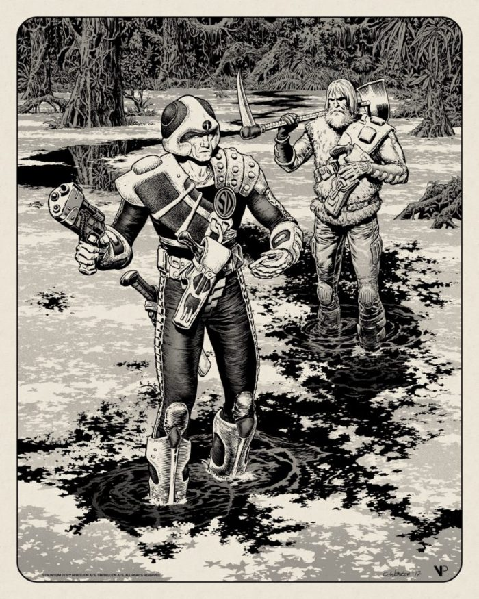 Strontium Dog and Wulf by Chris Weston