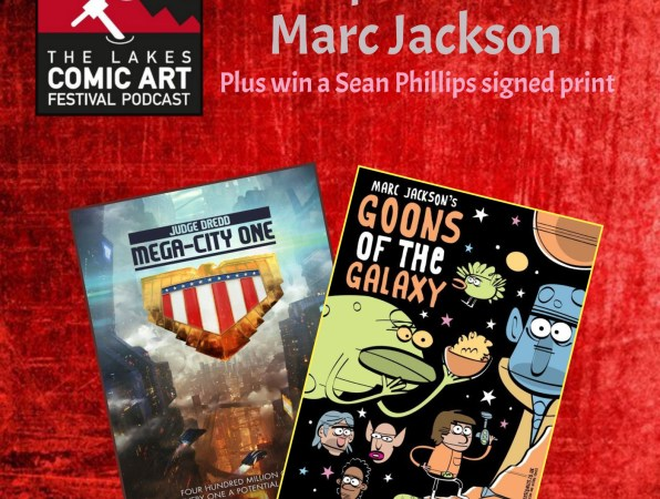 Creating Comics: Aces Weekly and Beano artist Marc Jackson latest Comic Art Festival Podcast guest