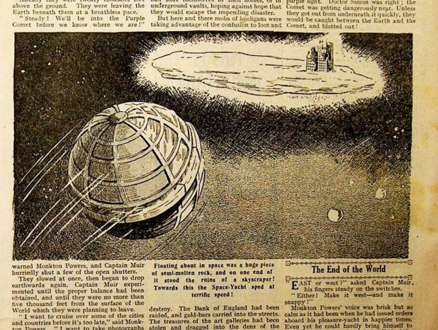 Travel in Space, DC Thomson style