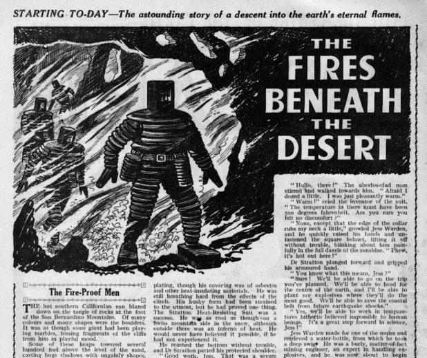 """The Fires Beneath The Desert"" (Wizard, 1943)"