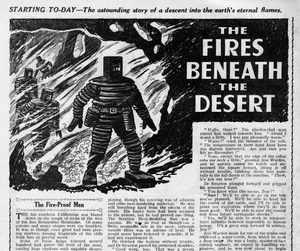 """The Fires Beneath The Desert"" (Wizard, 1943)"