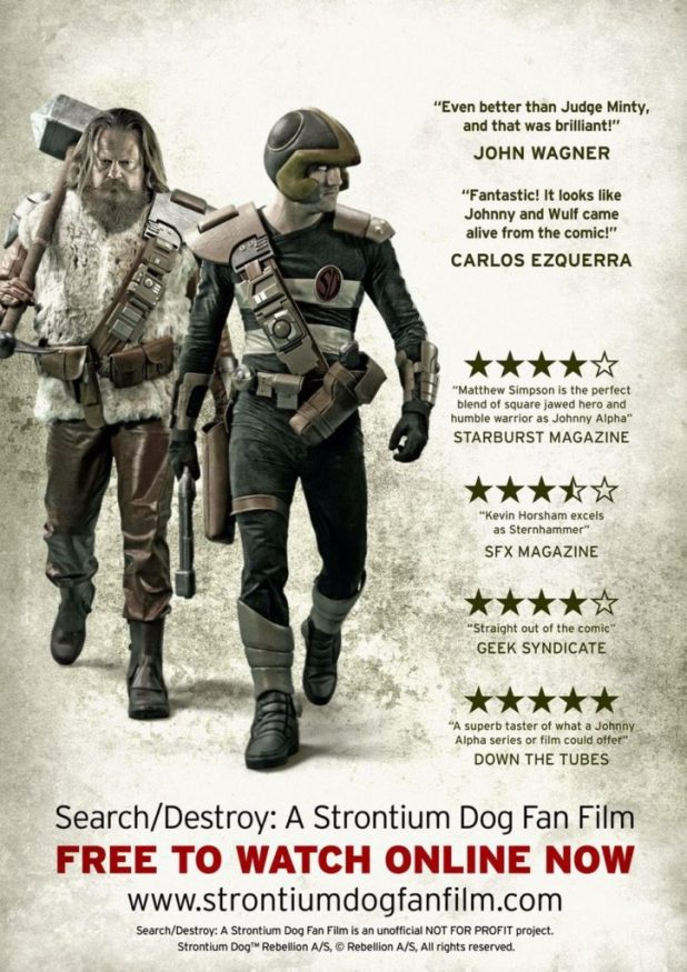 Search/Destroy: A Strontium Dog Fan Film Poster