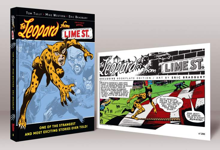 Leopard from Lime Street, Dracula Files and more coming this year as part of Rebelllion's Treasury of British Comics range