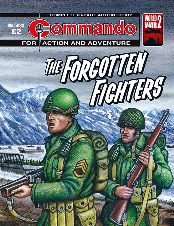 Commando 5033: Action and Adventure - Forgotten Fighters