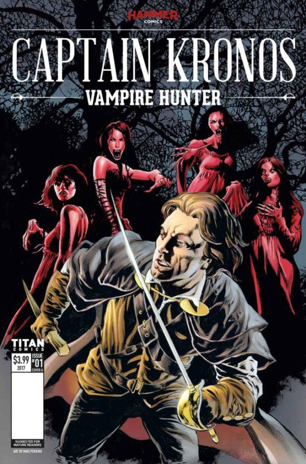 Captain Kronos #1 Cover A: Mike Perkins