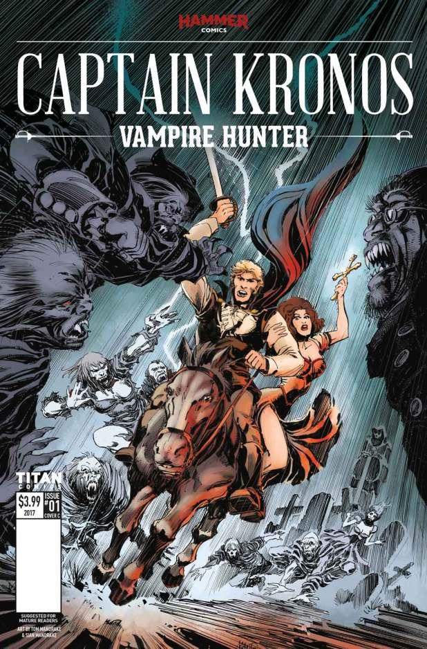Captain Kronos #1 Cover C: Tom Mandrake