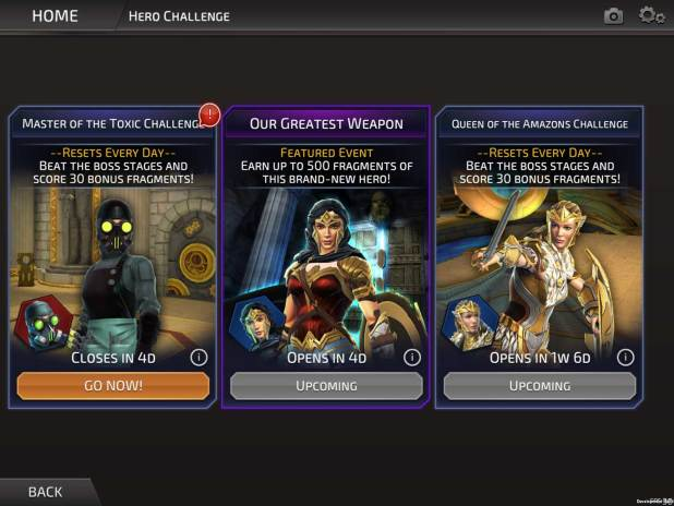 DC Legends - Wonder Woman Character Challenge