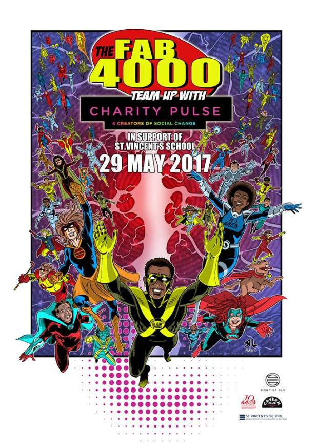 Fab 4000 Charity Pulse -Poster