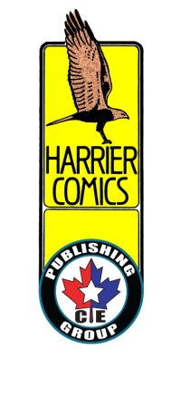 Harrier Comics - CEPG Logo