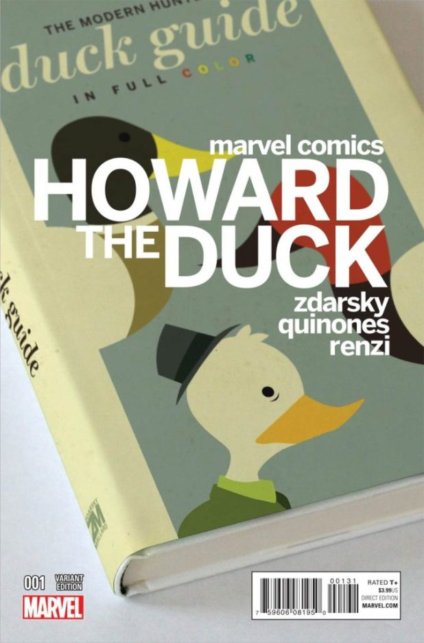 Howard the Duck #1 cover by Chip Zdarsky