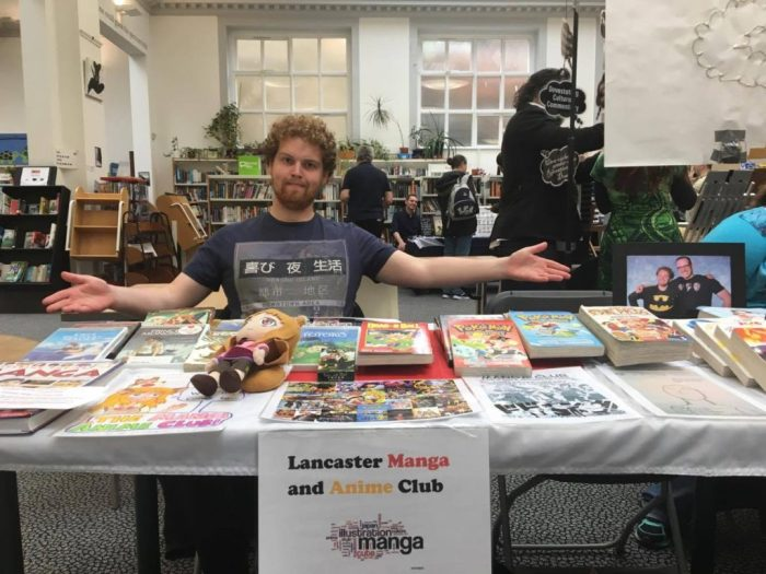 The Lancaster Manga Club were also at the event. Photo: David Chandler
