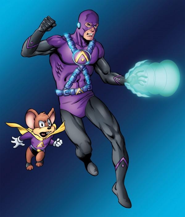 Superhero 2044 Art