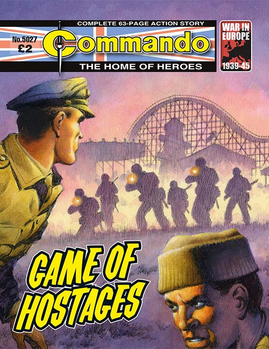 Commando 5027 - Game of Hostages