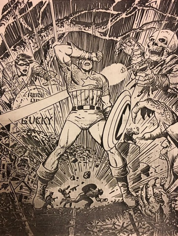 Captain America by Sam Glanzman