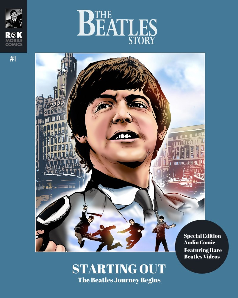 "ROK Comics has previously published a ""Beatles Story"" audio comic, but what happens when a company's license lapses and the digital comic is no longer on sale?"