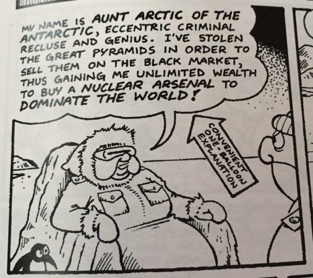 Combat-Colin #1 - Aunt Arctic