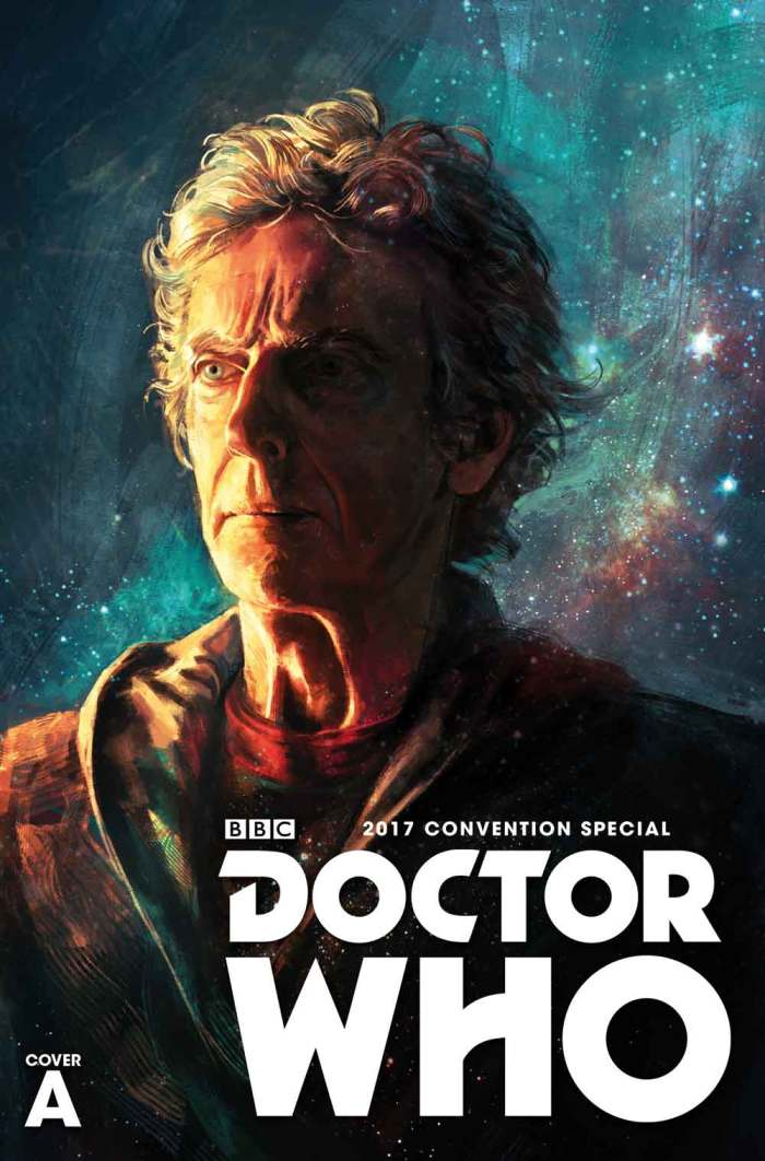 Doctor Who San Diego Comic-Con Titan Comics Special Cover A by Alice X. Zhang