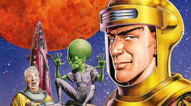 Dan Dare #1 Cover C - Art by Chris Weston SNIP