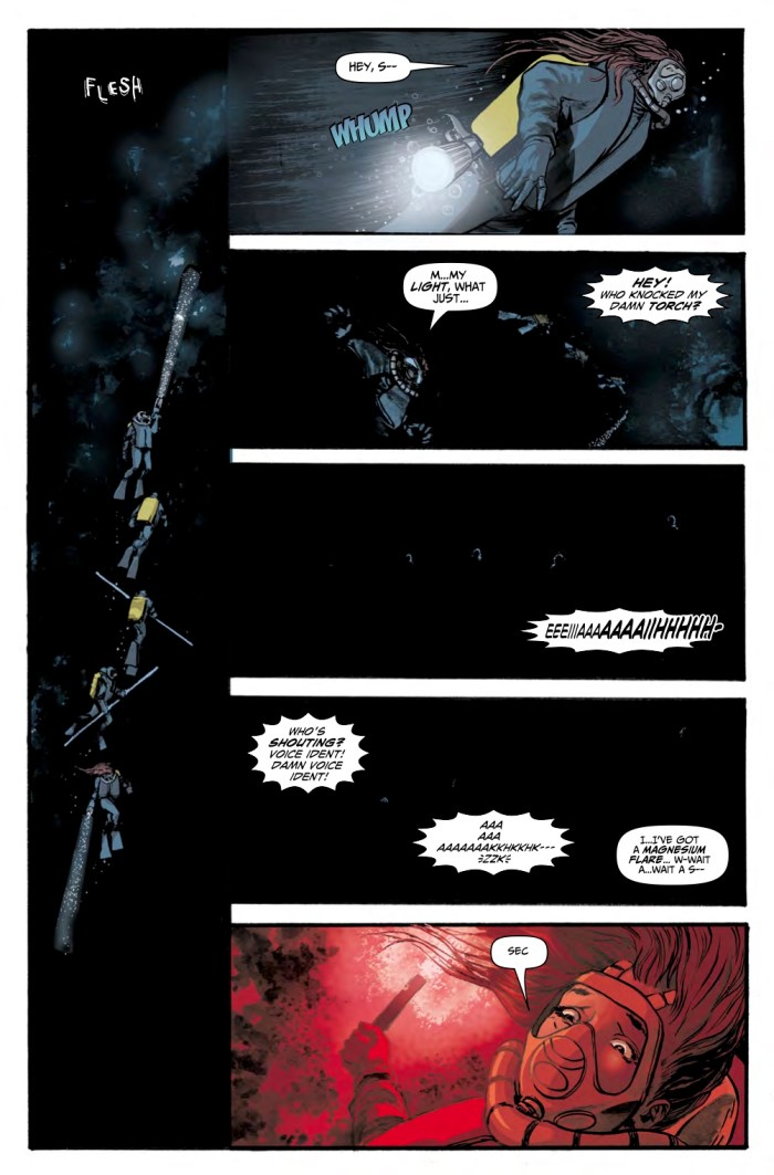 Hook Jaw Volume 1 - Collection Sample 4