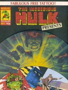 The Incredible Hulk Presents #1