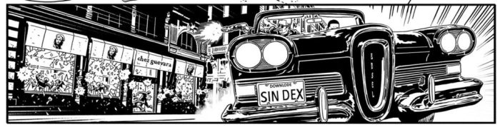 """A panel from """"Replica"""", a short story that featured in 2000AD Prog 2000, written by Dan Abnett"""