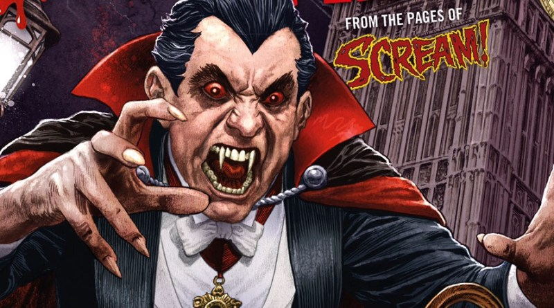 The Dracula Files - Rebellion Publishing Cover by Chris Weston SNIP