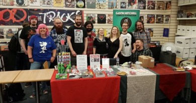 Incredible Comic Shop Smnall Press signing 15th July 2107