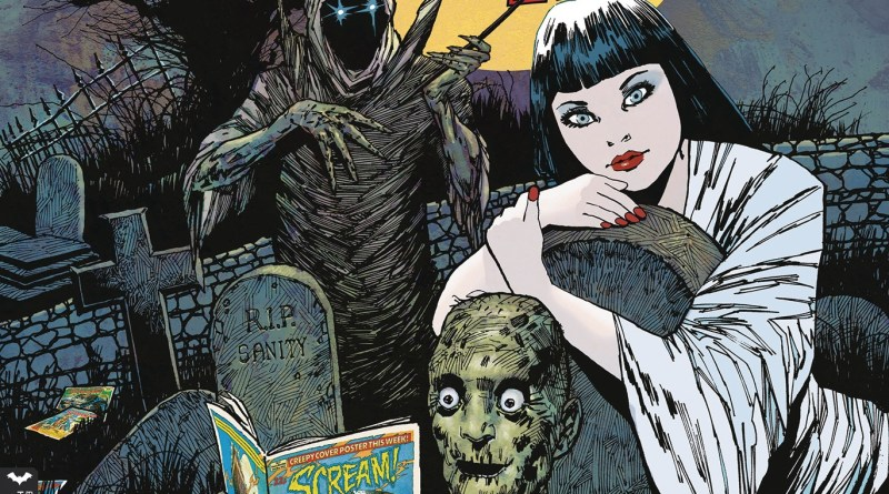 Scream & Misty Halloween Special 2017 - Cover