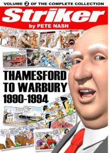 Striker Volume Two - Thamesford to Warbury - Cover
