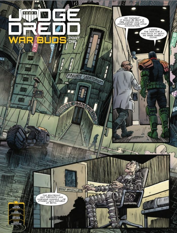 2000AD 2045 - Judge Dredd - War Buds Part One