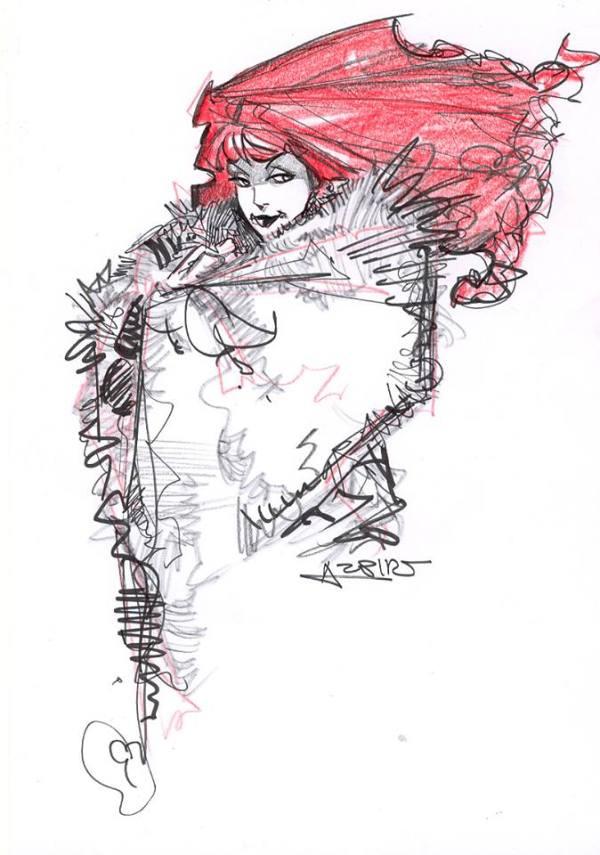 Lorna by Alphonso Azpiri