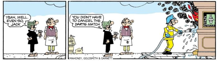 Andy Capp © Daily Mirror