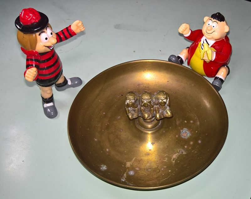 Beano Editor Harry Cramond's Ashtray