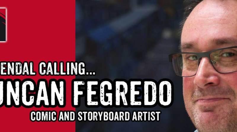 Duncan Fegredo - LICAF 2017 Banner
