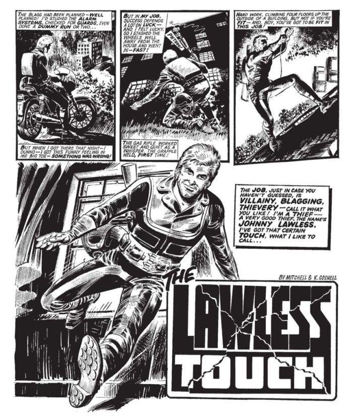Judge Dredd Megazine 387 - The Lawless Touch