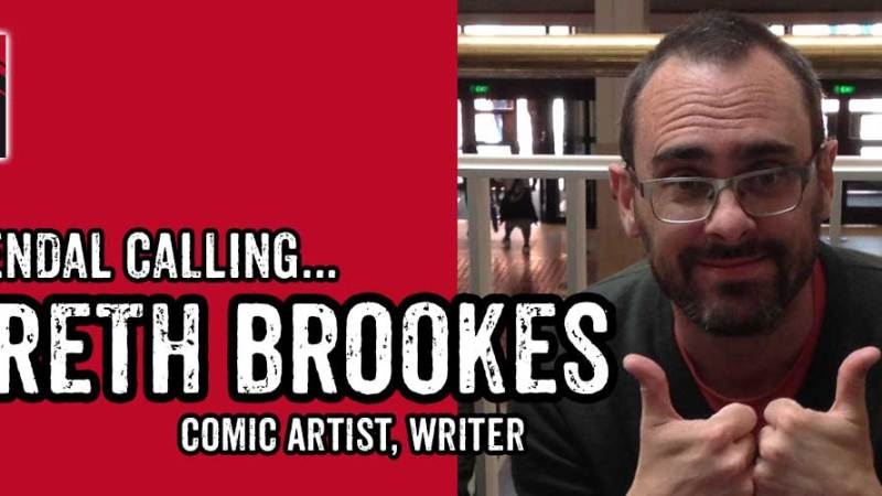Lakes Festival Focus 2017: An interview with comic creator Gareth Brookes