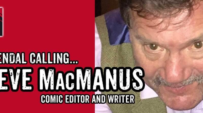 LICAF 2017 Banner 2000AD editor and writer Steve MacManus