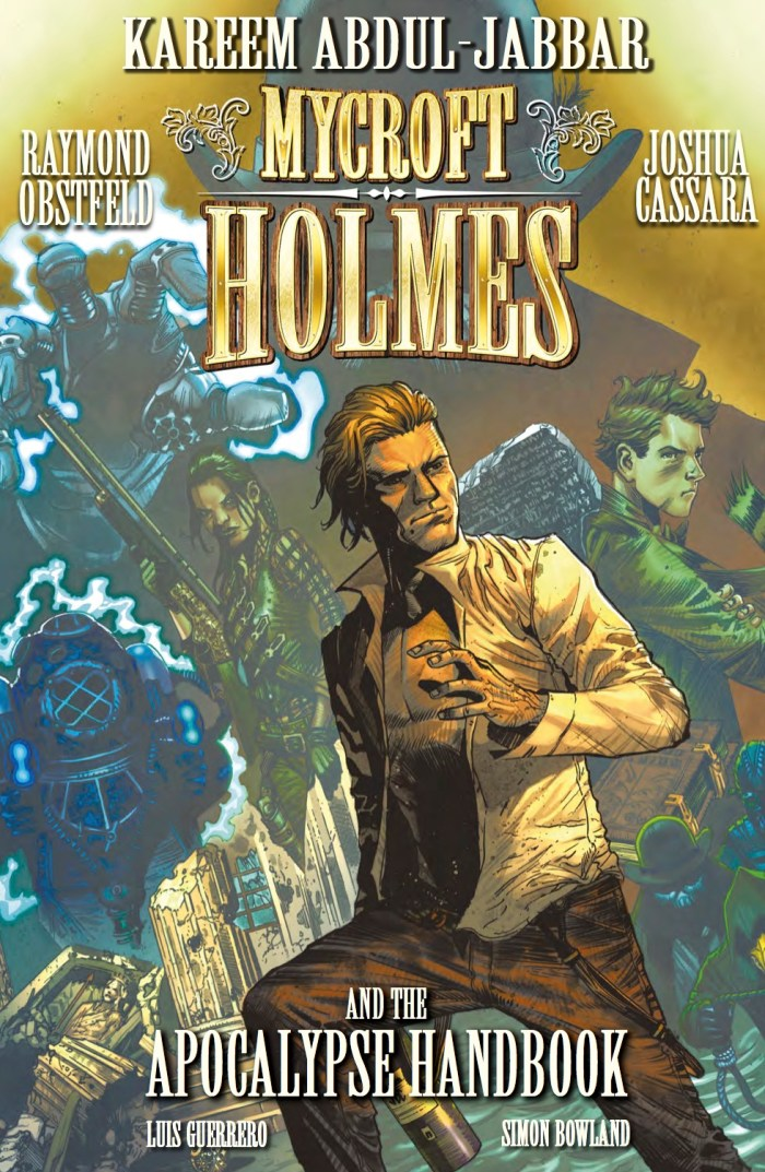 Mycroft Holmes And The Apocalypse Handbook Trade Paperback​ - Cover
