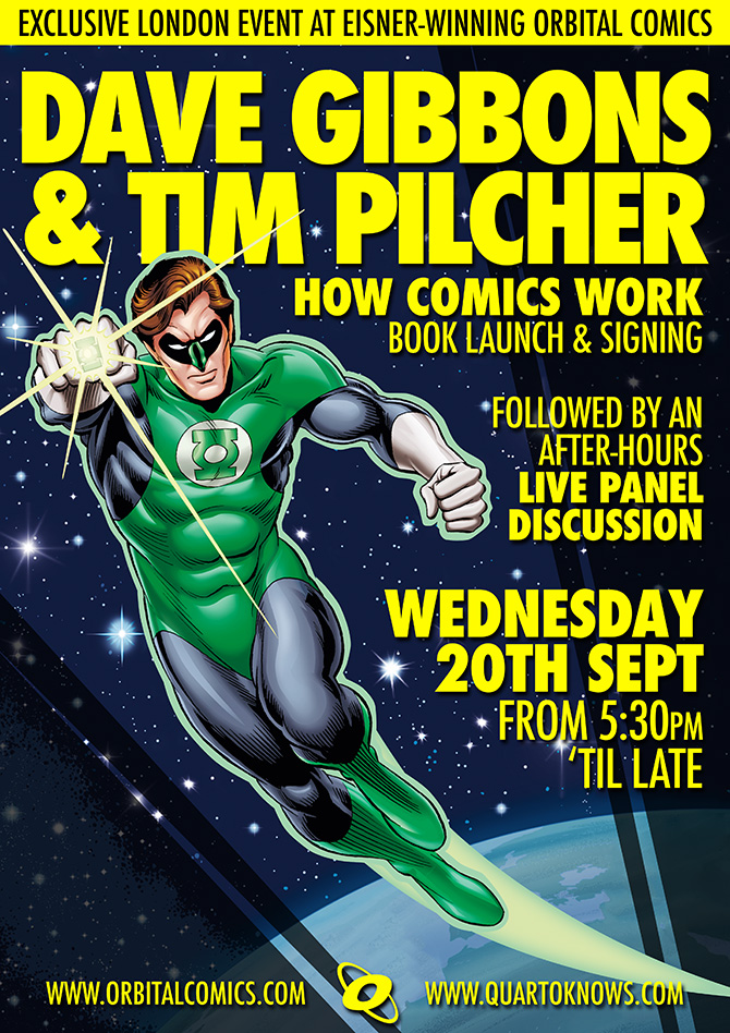 How Comics Work - Orbital Comics Signing 20th September 2017