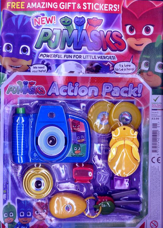 PJ Masks Magazine Issue One - with Gift