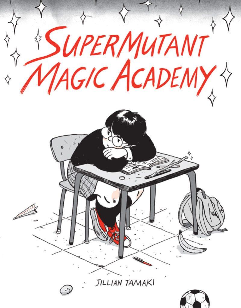 Super Mutant Magic Academy -Cover